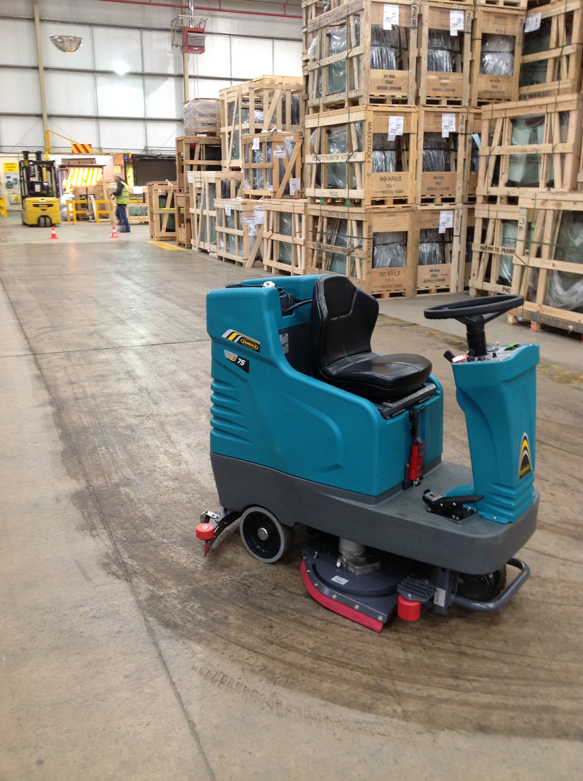 Eureka Scrubber Driers E75b Ride On The Cleaning