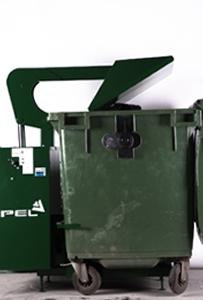 110-660 litre bin compactor