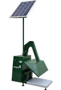 Solar Bin Compactor